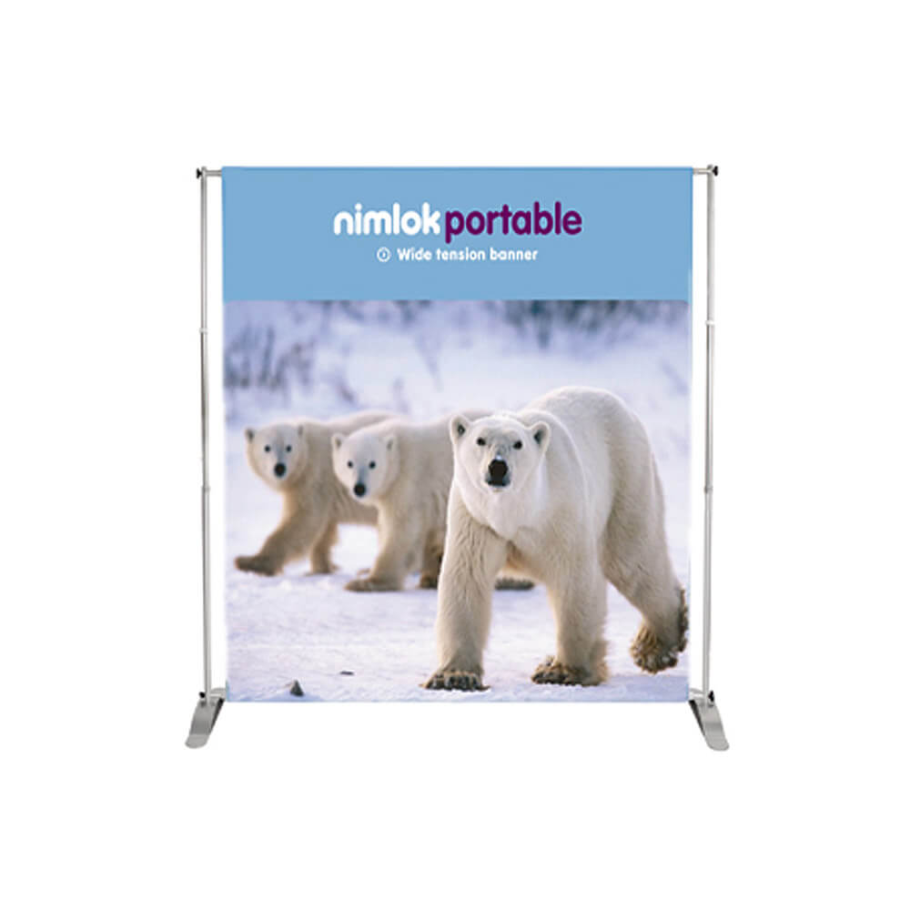 Wide Tension Banner Stand