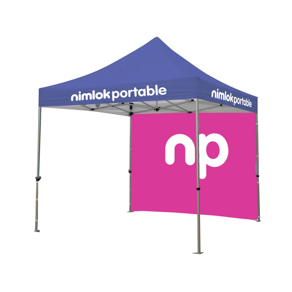 3m Pop Up Tent With Backwall