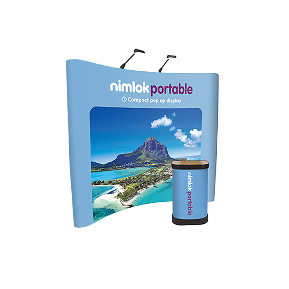 3x3 Curved Pop-Up Stand