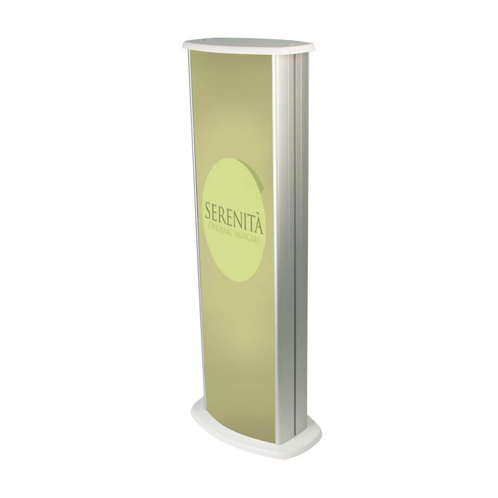 Slim Graphic Lightbox Display Pod