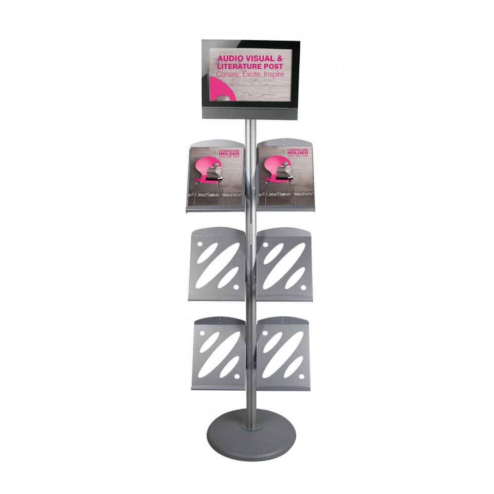 AV Literature Stand