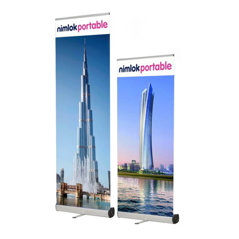 Bronze Compact Roller Banner Stand