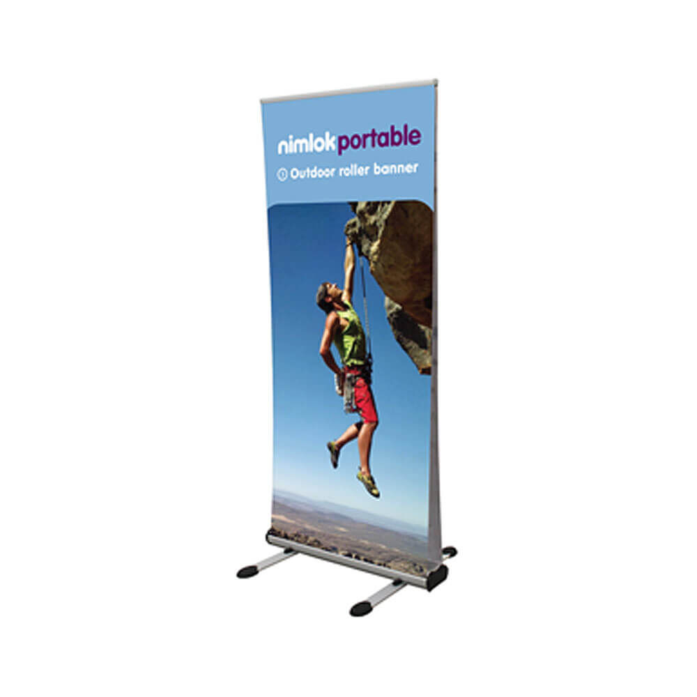 Double Sided Outdoor Roller Banner Stand