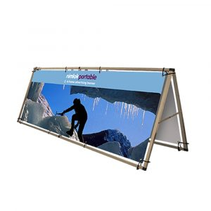 Double-Sided A Frame Outdoor Banner - 3000mm