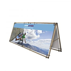Double-Sided A Frame Outdoor Banner - 2500mm