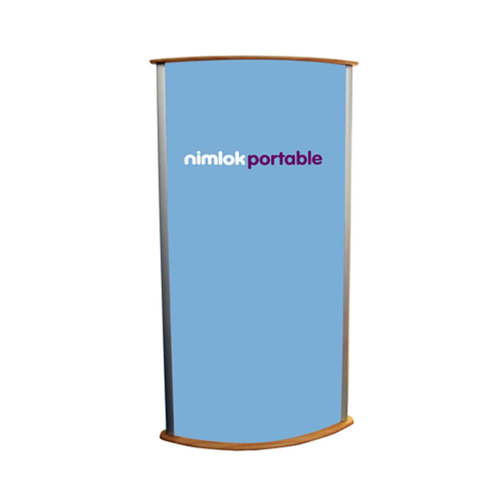 Large Graphic Lightbox Display Pod