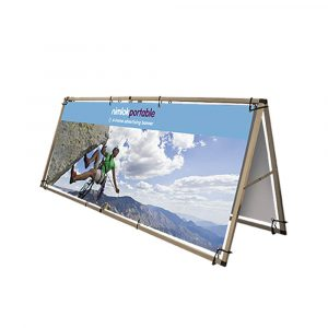 Single-Sided A Frame Outdoor Banner - 2500mm