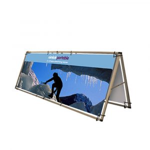 Large Single-Sided A Frame Outdoor Banner - 3000mm