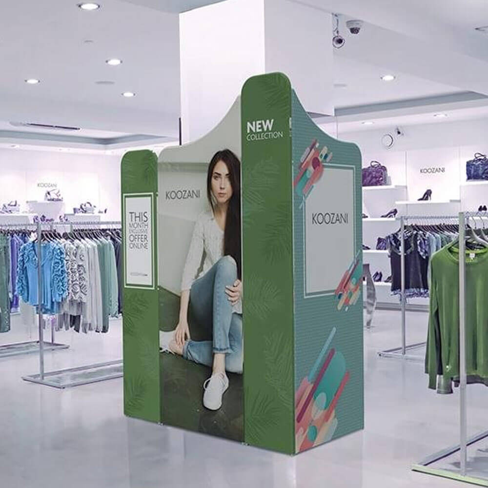 Modulate Fabric Retail Display