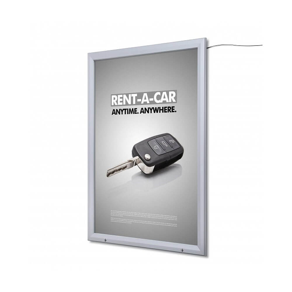LED Outdoor Lockable Poster Case