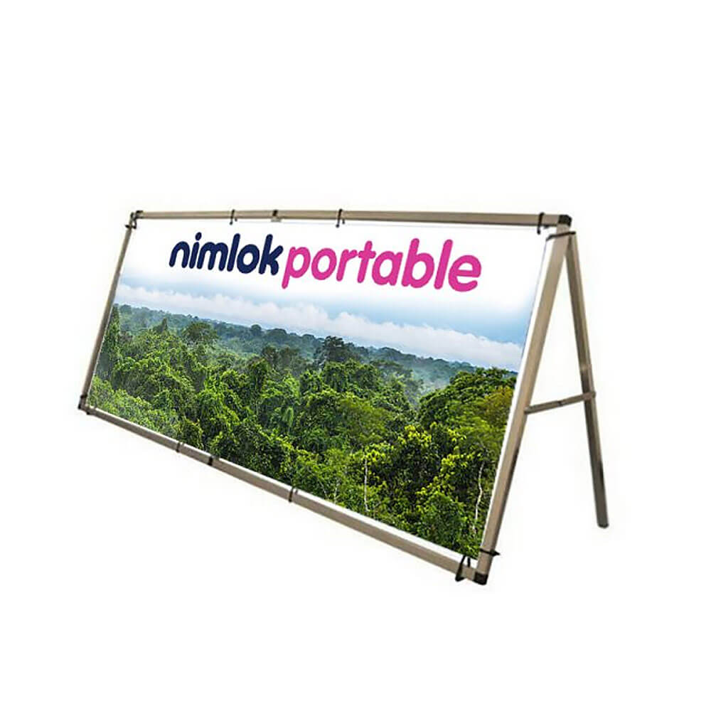 Single-Sided A Frame Recyclable Outdoor Banner - 2500mm