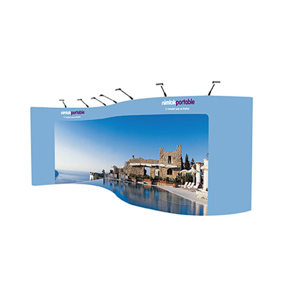 S-Shaped Pop-Up Stand