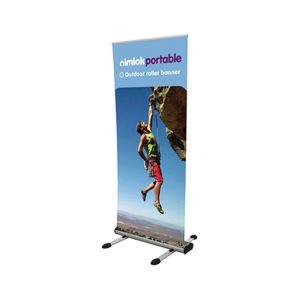 Single Sided Outdoor Roller Banner Stand