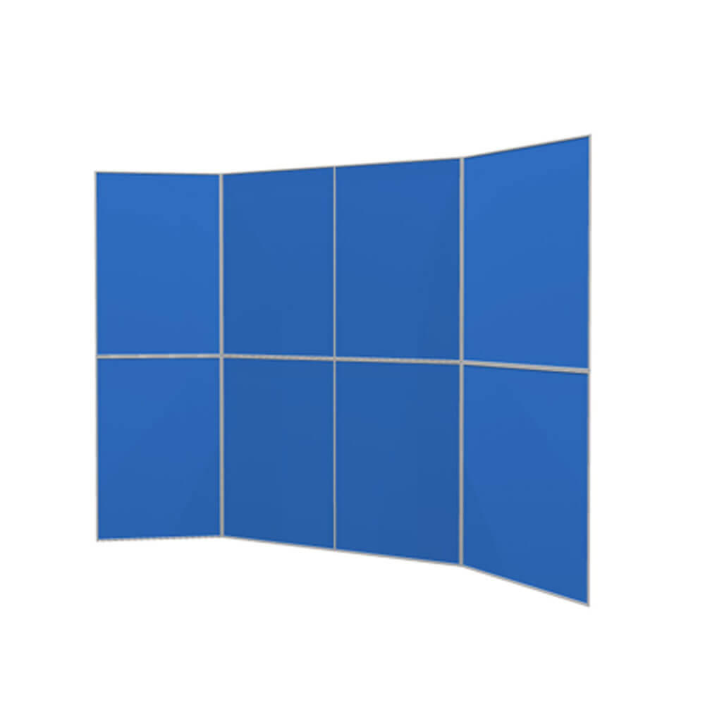 Folding Display Boards – Eight Panels