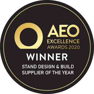 AEO Excellence Award 2020 - Stand Design & Build Supplier Of The Year