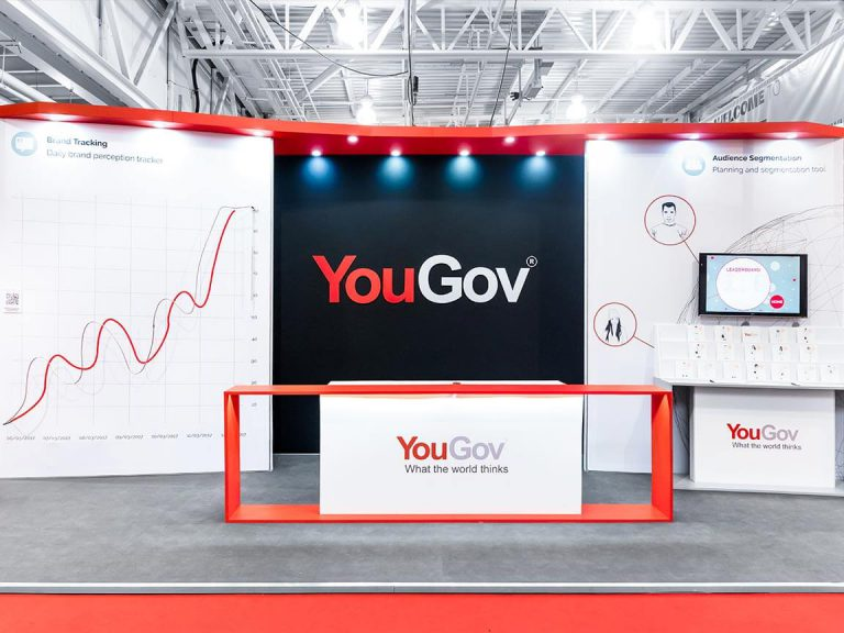 YouGov Exhibition Stand