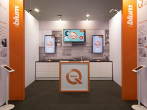 Blum - Engaging Exhibition Stand
