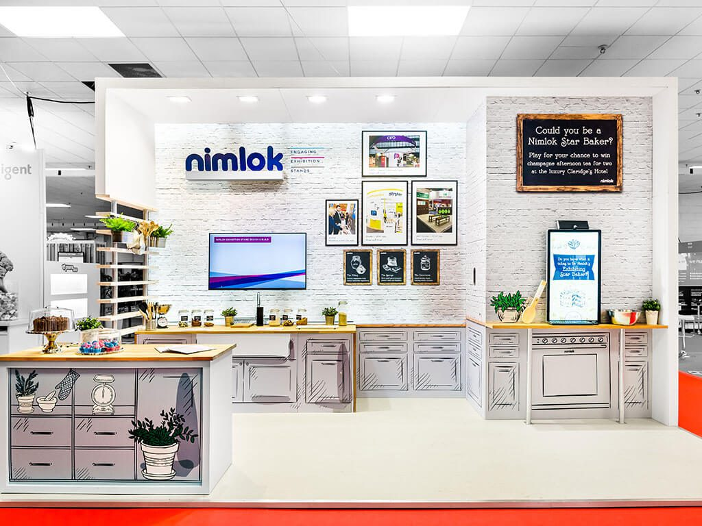 Nimlok Exhibition Stand at Marketing Week Live
