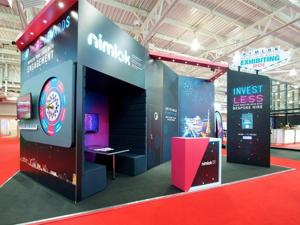 Nimlok UK Engaging Exhibition Stands