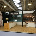 Hospitality on an exhibition stand
