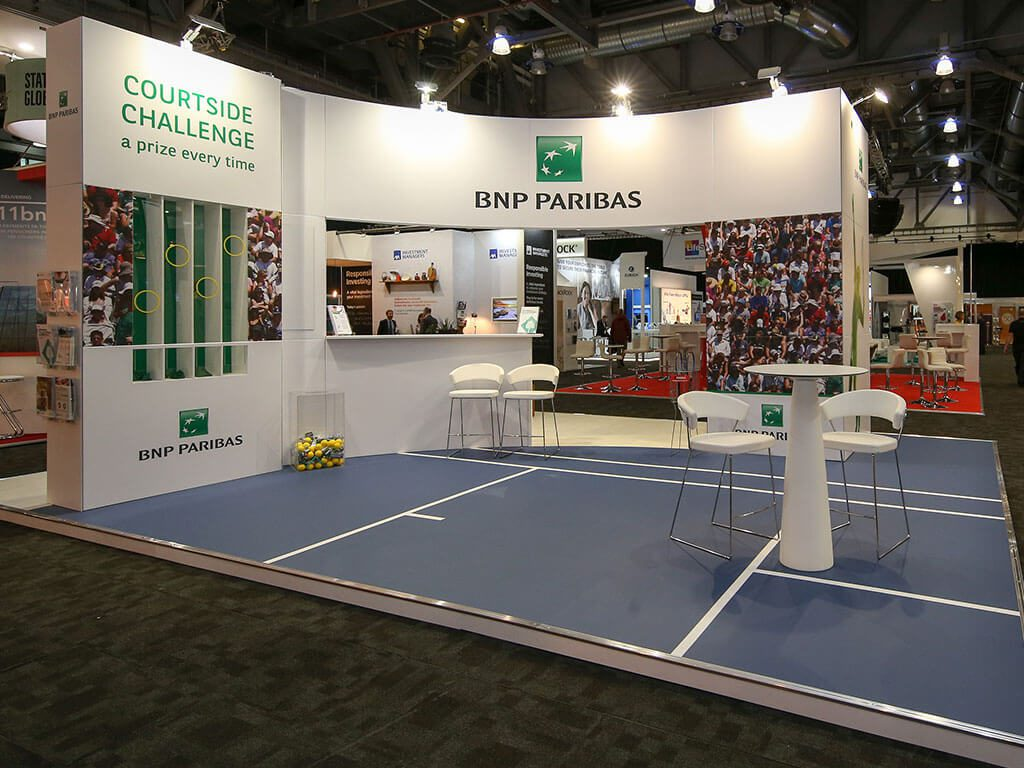 BNP Parisbas PLSA annual conference Exhibition Stand