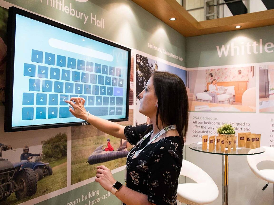 Interactive media for your exhibition stand