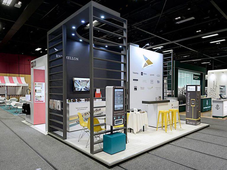 BNY Mellon Exhibition Stand | Nimlok UK
