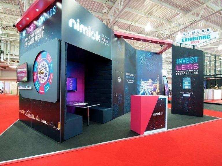 Nimlok Exhibition Stand at Marketing Week Live