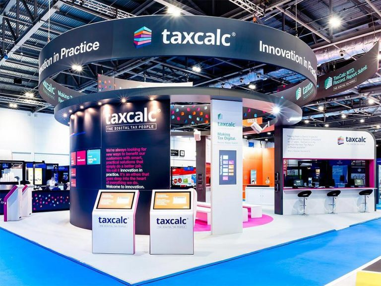 Taxcalc Exhibition Stand