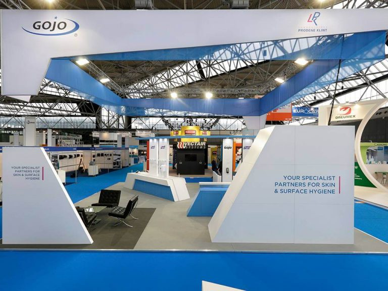 Gojo custom exhibition stand