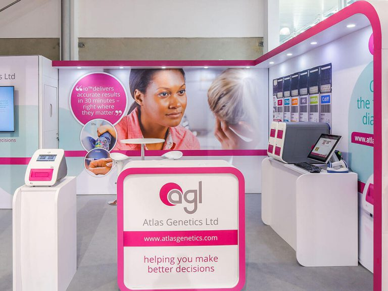 AGL Exhibition Stand