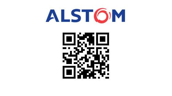 Alstom QR Code