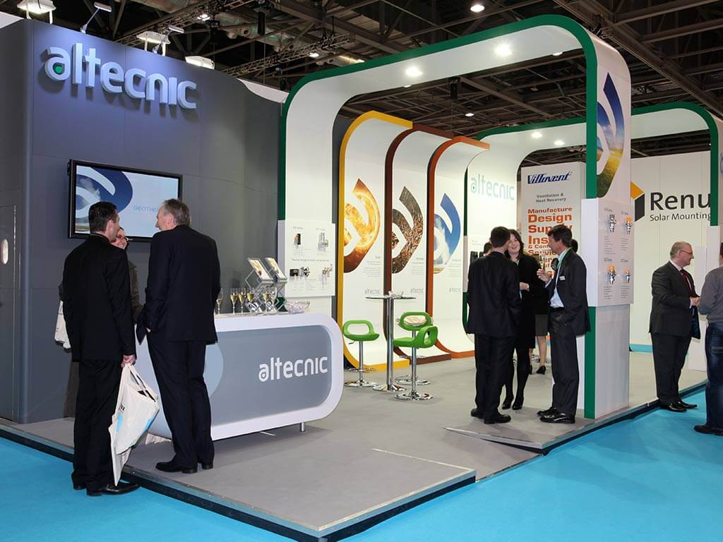 Small Exhibition Stand Job : Our work engaging exhibition stands nimlok uk