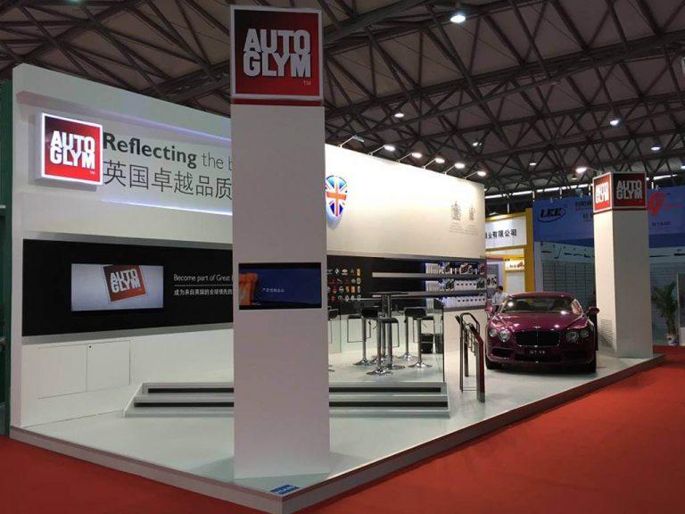 Auto Glym Exhibition Stand