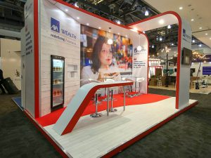 Axa Wealth Exhibition Stand