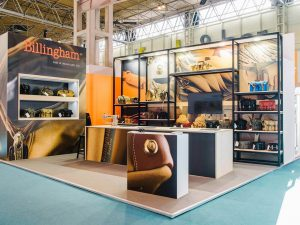 Billingham Exhibition Stand