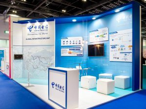 China Telecom Exhibition Stand