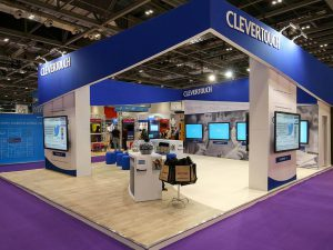 Clevertouch Exhibition Stand