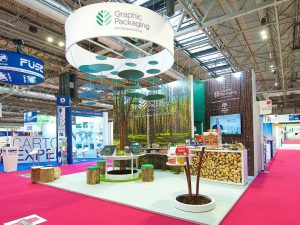 Green Packaging Exhibition Stand
