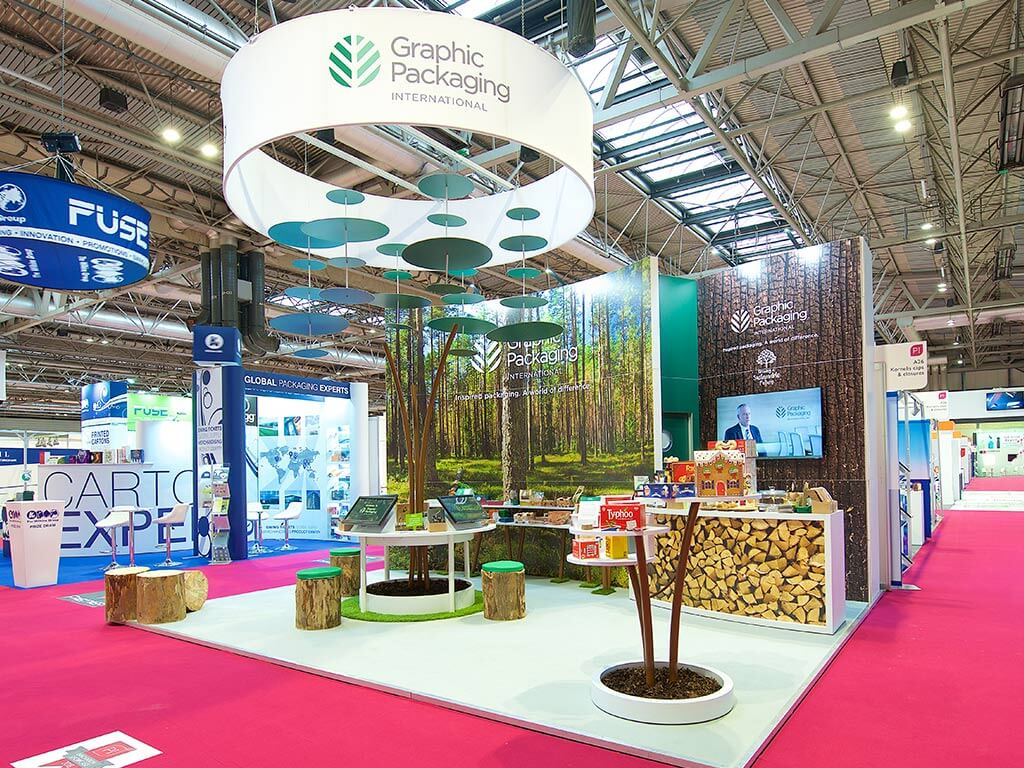 Exhibition Stand Packages : Our work engaging exhibition stands nimlok uk