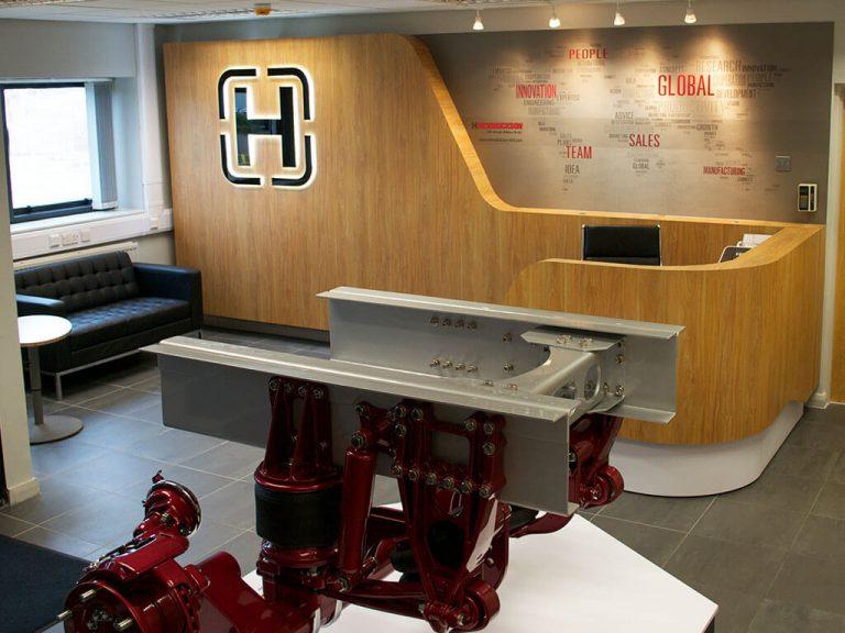 Hendrickson reception area