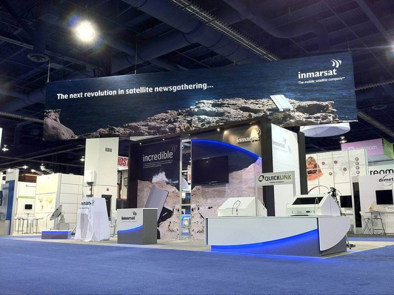 Inmarsat Exhibition Stand