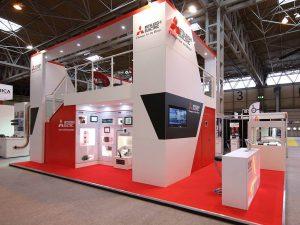 Mitsubishi Electronics Exhibition Stand