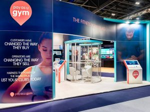 Pay As U Gym Exhibition Stand