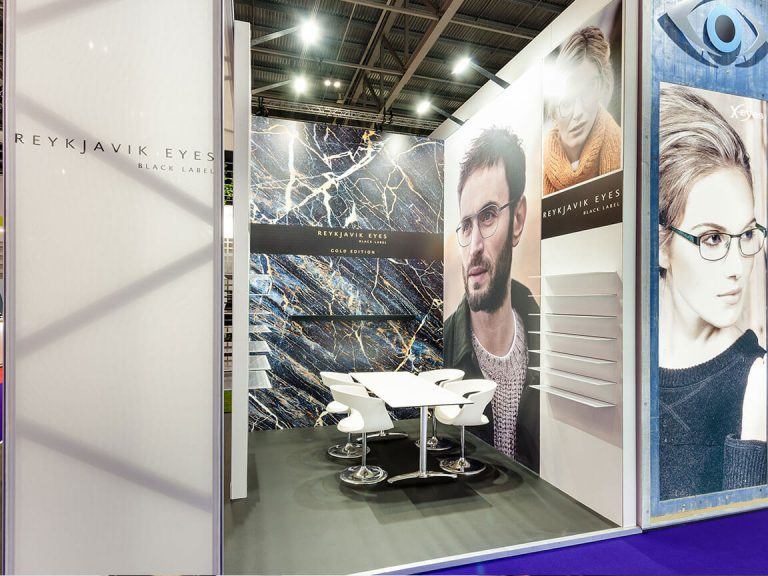 Exhibition Stand spacing
