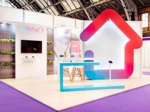 Utilita Exhibition Stand