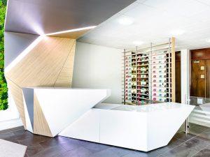 Utilita reception area by Nimlok