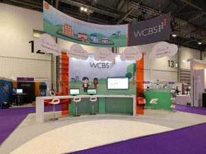 WCBS Exhibition Stand