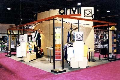 1990s Anvil Exhibition Stand