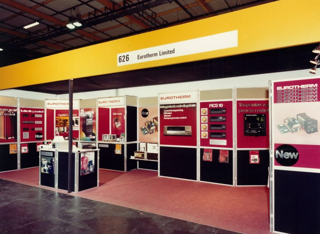 Eurotherm Limited Exhibition Stand